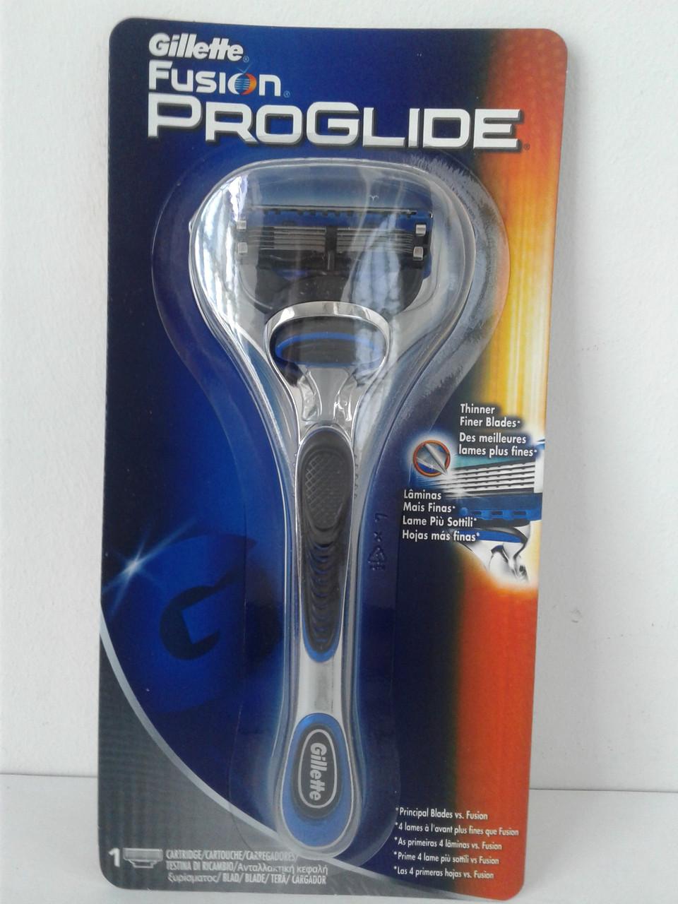 Станок мужской для бритья Gillette Fusion Proglide (Жиллетт Фюжен Проглейд)