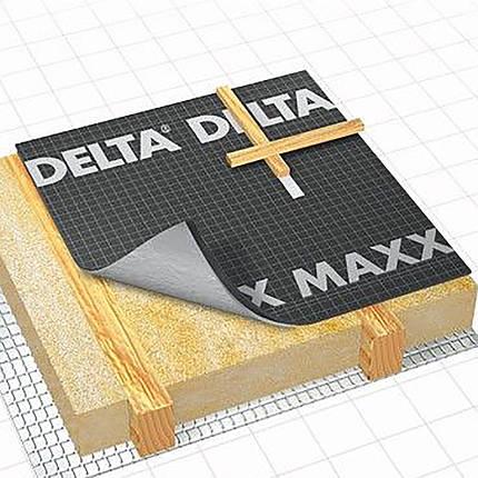 Гидроизоляционная мембрана Dorken DELTA-MAXX 1,5х50 м, фото 2