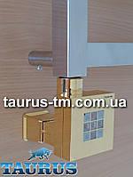 Золотой квадратный ТЭН KTX2 MS: регулятор + таймер на 2 часа + маскировка для провода. Мощность: 120-1000Вт.
