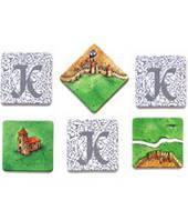 Каркассон. Набор плиток (Carcassonne Tiles)