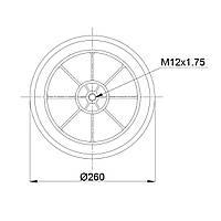 Пневмоподушка Schmitz RML75268CP6 (BLACKTECH)