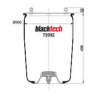 Пневмоподушка BPW RML75992 (BLACKTECH)
