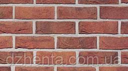 Кирпич лицевой Formback красный пестрый ручной формовки NF