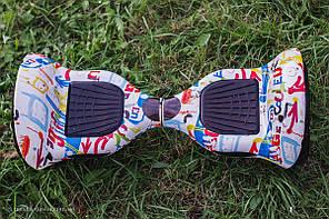 Гироборд Смартвей Гироскутер колеса 10 дюймов, пульт Bluetooth, сумка в подарок, фото 2