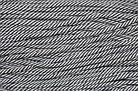 Шнур 7мм спираль (100м) т.серый+белый , фото 1
