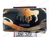 """Женский кошелёк (14х10 см.) (лошадь) """"Golden"""" RH-263, фото 1"""