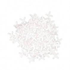 Набор дистанционных крестиков для плитки 1,5 мм / 200 шт INTERTOOL HT-0350