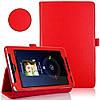 Красный чехол для ASUS FonePad ME372CG(ME373) из синтетической кожи.