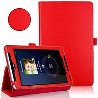 Красный чехол для ASUS FonePad ME372CG(ME373) из синтетической кожи., фото 1