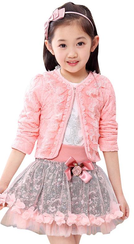 7cbb3c92cf9393 Нарядний костюм - трійка для дівчинки - Інтернет-магазин дитячого та жіночого  одягу