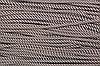 Шнур 7мм спираль (100м) коричневый (шоколад)+белый