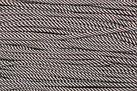 Шнур 7мм спираль (100м) коричневый (шоколад)+белый , фото 1