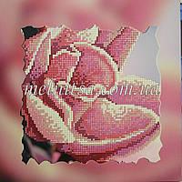 """Схема для вышивки бисером """"Роза"""", холст с подрамником"""