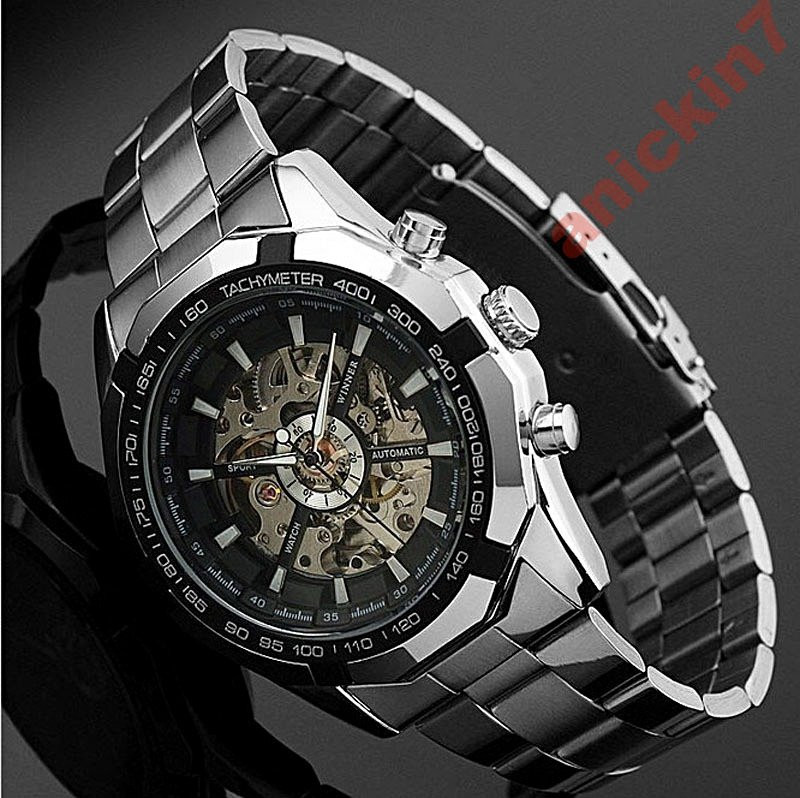 Часы механические скелетоны Skeleton