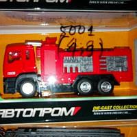 Детская металлическая пожарная машина 8001