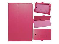Розовый чехол для ASUS FonePad ME372CG(ME373) из синтетической кожи.