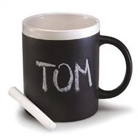 Керамическая чашка матовая с мелком, фото 1