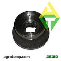 Полушпуля бороны БГР применяется в подшипниковом узле на дисковой бороне (старый образец) БГР 4.2.20.20.00.06