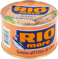 Тунец в оливковом масле Rio Mare Tonno all'Olio d'Oliva,240 г