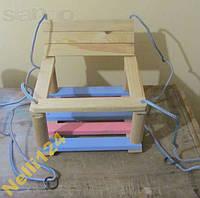 Качели для детей деревянные
