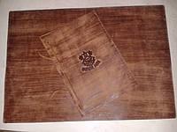Папка меню из кожи