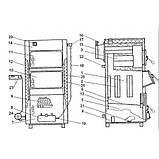 Твердопаливний котел Корді (Вулкан) АОТВ - 26В, фото 3