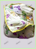 Одеяло и подушка теплое Детское. Силикон синтепон