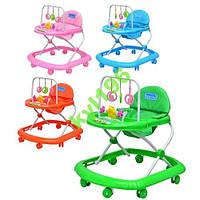 Детские ходунки  с подвесными игрушками