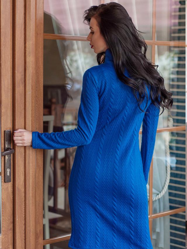 Тёплое осеннее платье