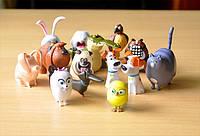 Тайная жизнь домашних животных игрушки, фигурки, набор , 14 шт