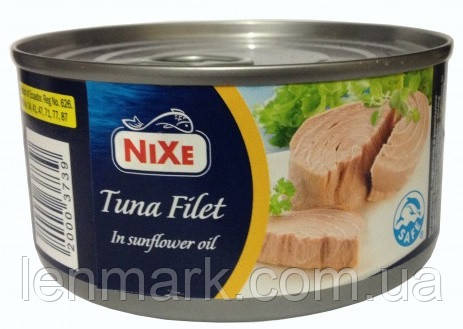 Тунец в оливковом масле Nixe Tuna in olive oil, 160 г