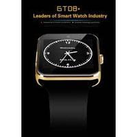 Умные часы Smart GT08 Gold для iOS/Android (Smart watch)