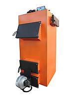 Универсальный котел на твердом топливе длительного горения Екот УНИ 20-35 квт площадь обогрева  до 350 кв.м