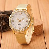 Золотые женские часы Geneva