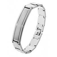 Стильный браслет для мужчин из стали