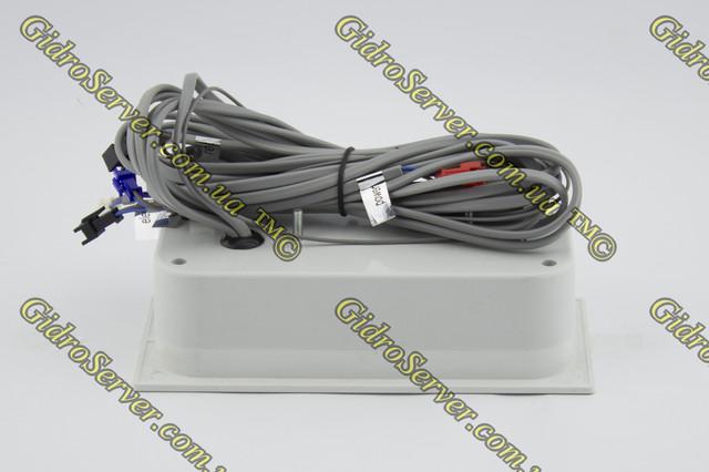 Пульт управления для душевой кабины, гидромассажного бокса PU-04 фотография задней части и проводов для подключения функционала.