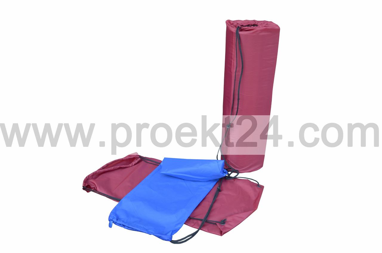 Чехол для коврика (каремата) синий 70*26 см