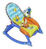 Детский шезлонг-качалка 7179