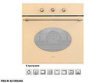 Встраиваемый электрический духовой шкаф Fabiano FBO-R 42 Кремовый / Cream в классическом дизайне