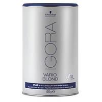 Осветляющий порошок для волос Igora Vario Blond Plus 450 g