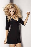 Черная ночная сорочка Magnolia TM Dkaren (Польша)