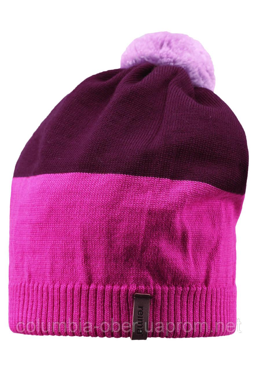 Детская зимняя шапка для девочки Reima 528497-4620. Размер 54-56.
