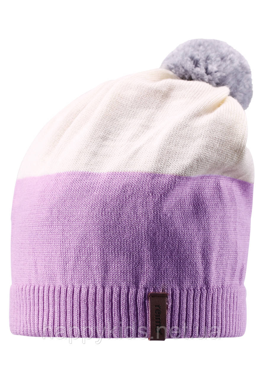 Детская зимняя шапка для девочки Reima 528497-5000. Размер 52-56.