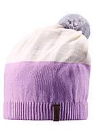 Детская зимняя шапка для девочки Reima 528497-5000. Размер 52-56. , фото 1