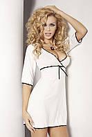 Женская ночная сорочка Magnolia TM Dkaren (Польша) цвет молочный