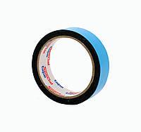 Двусторонний скотч клейкая лента на вспененной основе черная 30мм*2м