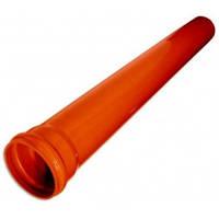Труба ПВХ 110 х 1,0 м (3,2) наружнняя канализация