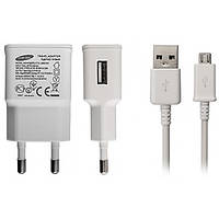 Зарядное устройство сетевой microUSB Samsung ETA-U90EBE 2A White (ETA-U90EBE)
