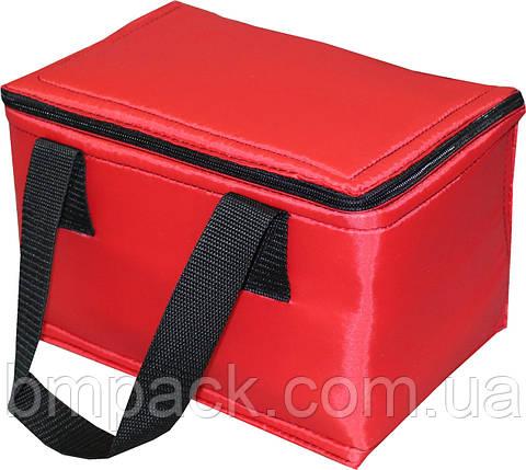 Термосумка «Ланчбэг» Красный 5,5л, фото 2