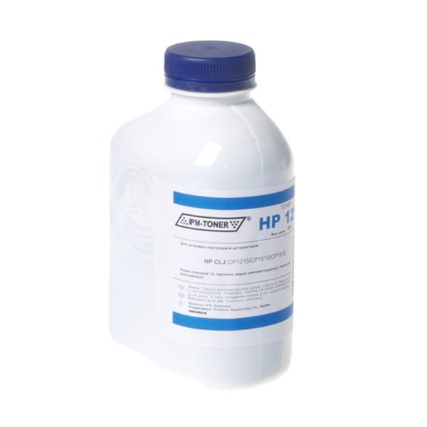 Тонер IPM для HP CLJ CP1215/CP1515/CM1312 бутль 50г Cyan (TB88C-3)